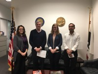 Berkeley & LBL Postdocs Meet With Rep. DeSaulnier