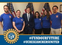 Irvine Postdocs Meet with Rep. Mimi Walters' Staff